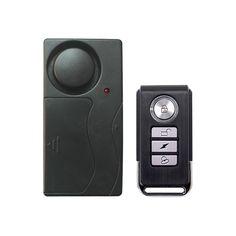 Home Security Wireless Remote Control Vibration Motorcycle Bike Door Window Detector Burglar Alarm Home Security Alarm, Safety And Security, Home Safety, Rc Helicopter, Alarm System, Motorcycle Bike, Radio Control, Mobiles, Remote