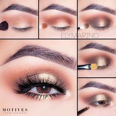 18 Easy Smokey Eye Tutorial Ideas To Look Smoking Hot ★ How to do Smokey Eye for Girls with Brown Eyes picture 1 ★ See more: http://glaminati.com/smokey-eye-tutorial/ #makeuplover #makeupjunkie #makeuptutorial #smokeyeyes