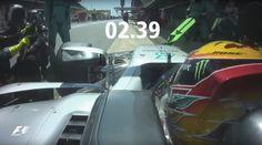 Vídeo | El pit stop más rápido del Gran Premio de España F1 2017  #F1 #Formula1 #SpanishGP