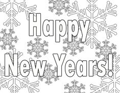 happy new year coloring pages 2018 free printable happy new years coloring pages 2018