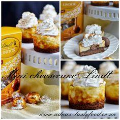 .. chute a vône mojej kuchyne...: Mini cheesecake Lindt