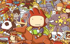 Interactive Entertainment has announced the launch of Scribblenauts Showdown, a new creative franchise video game that extends the creativity Best Ipad, Game Interface, Hard Work And Dedication, Computer Repair, Nintendo Ds, Indie Games, Warner Bros, Iphone, Games For Kids