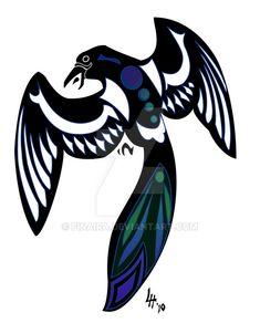 colour magpie tattoo - Google Search