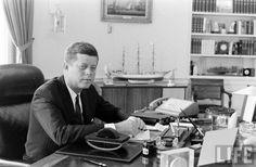 President Kennedy Date taken:1962 Photographer:Alfred Eisenstaedt