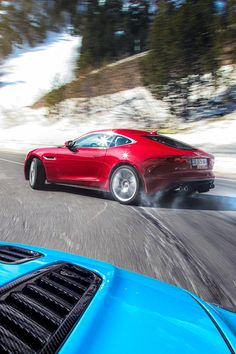 Jaguar F Type Coupe R vs Aston Martin Vantage S — Richard Pardon - Car and Portrait Photography Cool Sports Cars, Sport Cars, Cool Cars, Aston Martin V12 Vantage, Porsche, Jaguar F Type, Latest Cars, Performance Cars, Car In The World