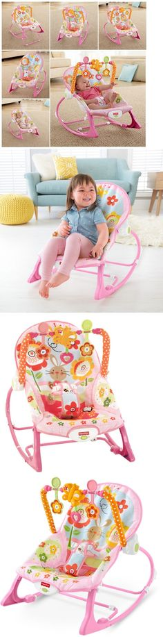 Bouncers And Vibrating Chairs 117034: Fisher Price Infant To Toddler Rocker  Newborn Toy Boy Girl