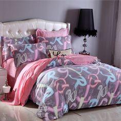 les 25 meilleures id es de la cat gorie couette alphabet sur pinterest messages inspirants. Black Bedroom Furniture Sets. Home Design Ideas