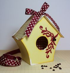 12 Boxes of Christmas: Birdhouse Box
