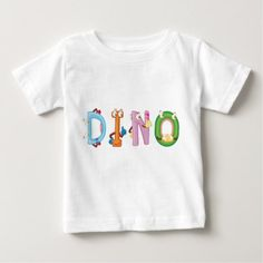 #Dino Baby T-Shirt - #dino #shirts