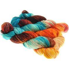 Maschenmaler 125g handgefärbte Wolle für alle, die farbefrohe Strickstücke lieben Wählen Sie mehrere Färbungen für eine Str