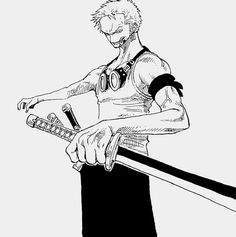 Zoro-he never stops being cool