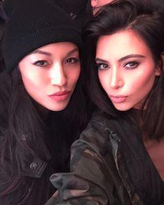 "kuwkimye: "" kimkardashian Happy Birthday to my second half! Life without you wouldn't be complete! I love you @steph_shep "" Happy Birthday Steph!"