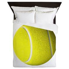 Tennis Ball Queen Duvet on CafePress.com