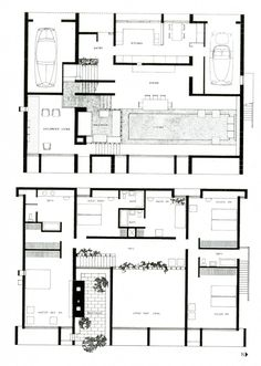AD Classics: Milam Residence / Paul Rudolph 1288719768-floorplansmilam-1 – ArchDaily