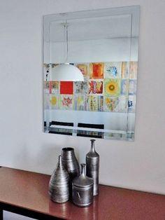 Espelho Retangular com duplo bisotê