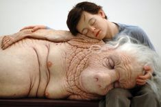 ron mueck sculptures | Technoccult - The World's Most Prominent Hyper-Realist Sculptors