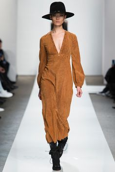 Zimmermann Fall 2015 Ready-to-Wear - Collection - love this look.  how good would that dress look with a cute fur vest?