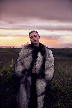 Vogue China September 2016 Ruth Bell by Ryan McGinley-2
