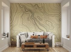 Image result for topographic design wall