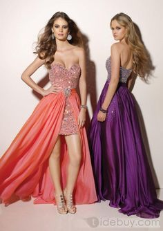 Prom with detachable skirt i like this idea