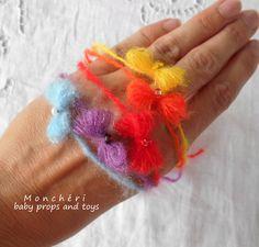 2e95ccd4b63 Čelenky k focení miminek - barevné   Zboží prodejce Monchéri baby props and  toys