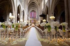 How to Decorate a Church for a Wedding   Team Wedding Blog