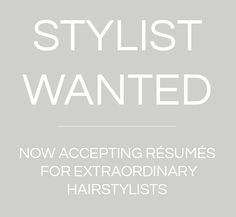 Are you a hairstylist? Do you know someone who is in the New York area and beyond? Please forward this message to them. We are now hiring hairstylist for weddings. Email: brideshairstylist@gmail.com