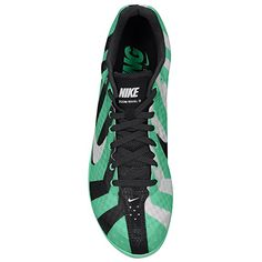 21aec9ae0f44 Nike Rival D 8 Track Spike Running Women Green - ShoesColor