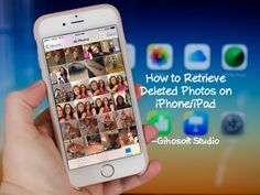 Recover Deleted Photos from iPhone iPad