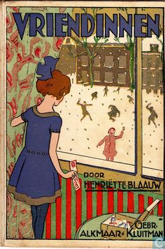 """Vriendinnen. Illustrator Rie Cramer.""""Come Out to Play"""""""