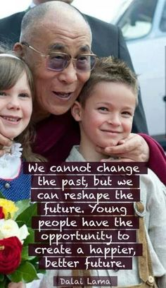 ...we can reshape the future...