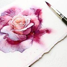 🎨 Watercolorist: @apollin_aria    #waterblog #акварель #aquarelle #drawing #art #artist #artwork #painting #illustration #watercolor #aquarela