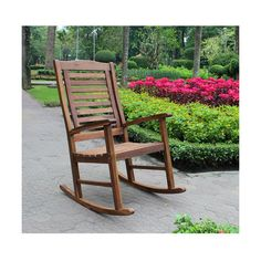 International Caravan Acacia Trinidad Porch Rocker ($158) ❤ liked on Polyvore featuring home, outdoors, patio furniture, outdoor chairs, patio rocking chairs, rocking armchair, acacia wood patio furniture, acacia patio furniture and garden rocking chair