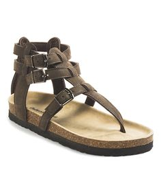Take a look at this OUTWOODS Brown Bork Gladiator Sandal today!