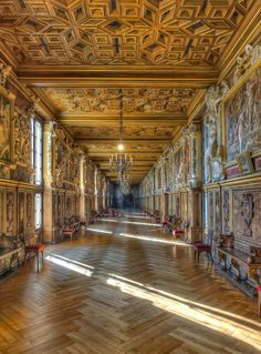 Galerie François Ier ~ Château de Fontainebleau