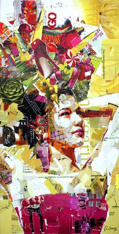 Beautiful Collage Works by Derek Gores