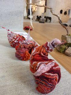 Les 3 épreuves - Marjolein Dallinga - exposition 100g, un poids, une mesure, une unité - journées européennes du feutre - felletin 2013
