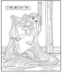 라푼젤 색칠공부 프린트 도안!! 디즈니 공주 시리즈 - 오늘은 라푼젤 색칠공부를 올려 드릴께요. ...