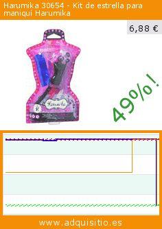 Harumika 30654 - Kit de estrella para maniquí Harumika (Juguete). Baja 49%! Precio actual 6,88 €, el precio anterior fue de 13,53 €. https://www.adquisitio.es/harumika/30654-kit-estrella