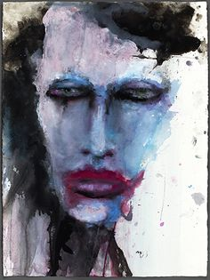 Marilyn Manson (Lithograph)