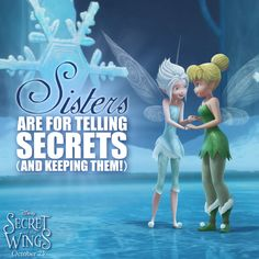 TinkerBell and the Secret of the Wings Icon: Periwinkle Tinkerbell And Friends, Peter Pan And Tinkerbell, Disney Fairies, Disney Parks, Walt Disney, Secret Of The Wings, Teen Life, Tv Show Quotes, Disney Quotes