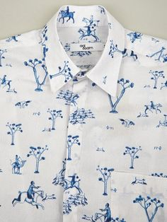 Agi & Sam Men's Porcelain Hidden Button Shirt | oki-ni