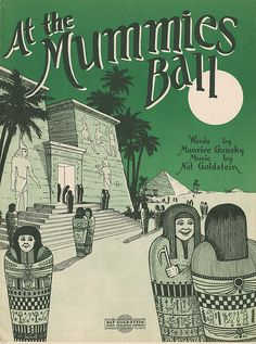 Sheet music for At the Mummies Ball.
