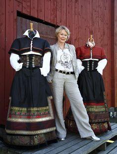 Folk Costume, Costumes, European Dress, Swedish Design, Traditional Dresses, 1920s, Cloths, All Things, Scandinavian