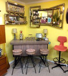 I Love This Tiki Bar Look! Need Need Need!