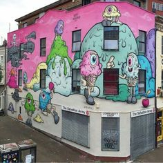 Buff Monster, located in Bristol, UK