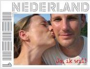De postzegel, de foto is 7 jaar oud inmiddels.