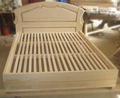 Victorian Furniture, Retro Furniture, Bed Furniture, Home Decor Furniture, Furniture Design, Timber Bed Frames, Timber Beds, Wood Beds, Wood Bed Design