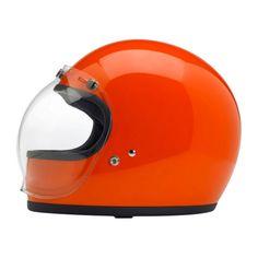 This is beautiful: Biltwell Gringo Helmet, Hazard Orange, Medium http://canopy.co/p/11938