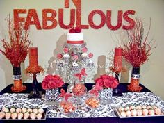 """Photo 1 of 25: 40th birthday party / Birthday """"40 & Fabulous!"""" 